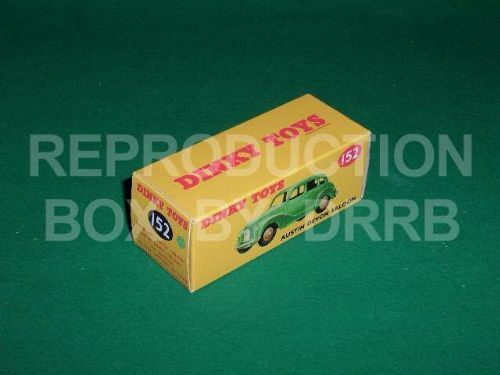 Dinky #152 Austin Devon Saloon - Reproduction Box ( Light Green )